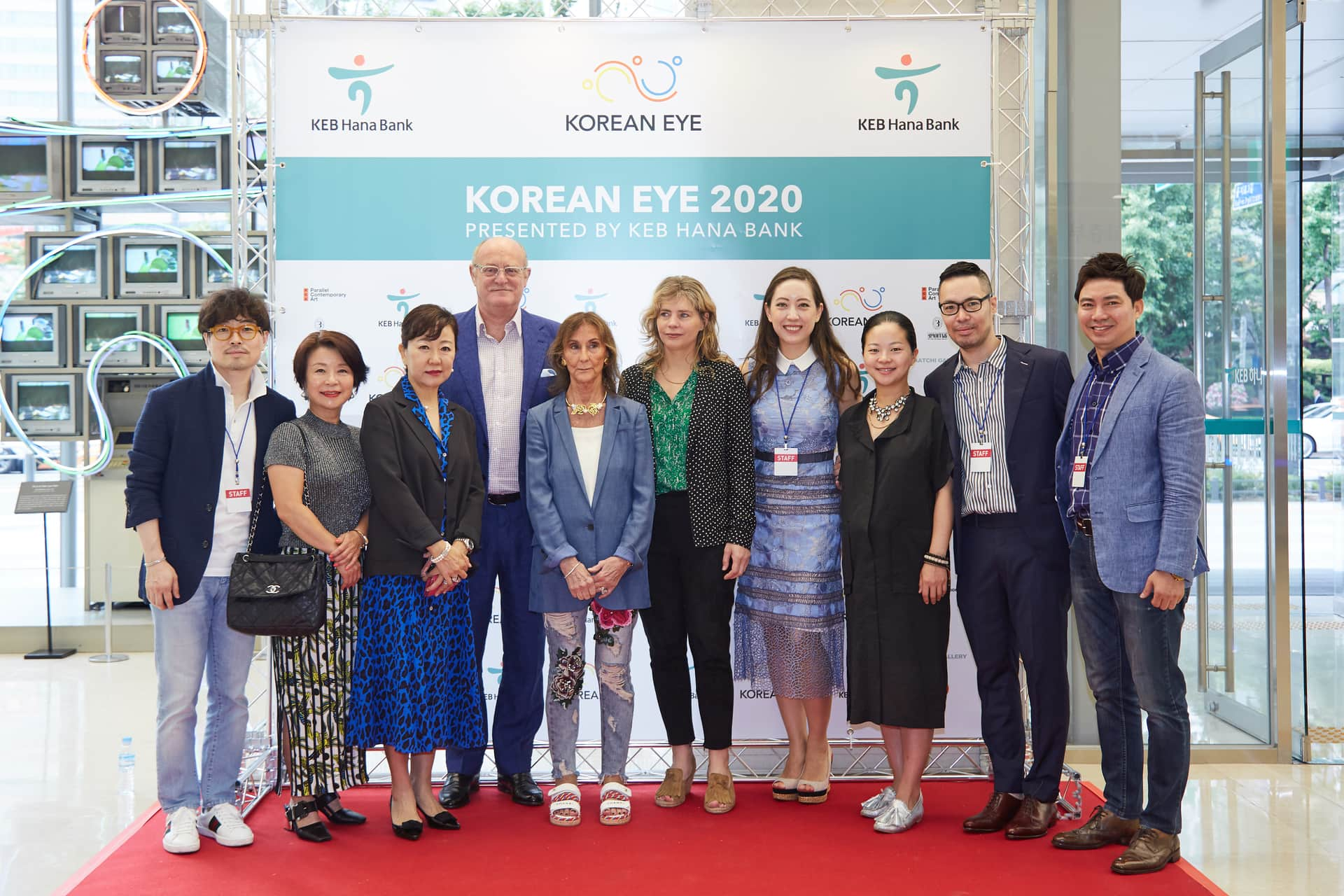 The Korean Eye 2020 team at the launch in Seoul